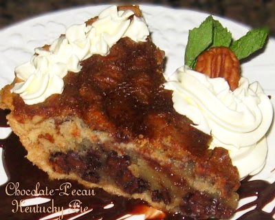 Chocolate Pecan Kentucky Pie