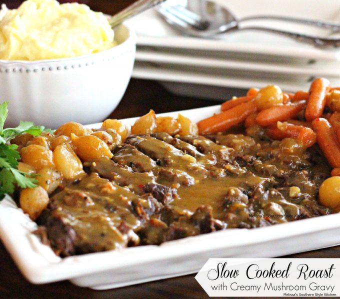 recipe: how to thicken pot roast gravy in crock pot [9]