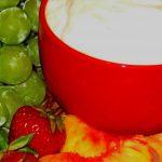 White Chocolate Orange Fruit Dip