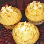 French Vanilla Cupcakes with Dreamscicle Filling recipe