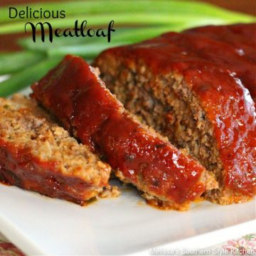 Homestyle Delicious Meatloaf recipe