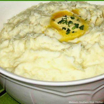 Swiss Cheese Mashed Potatoes recipe