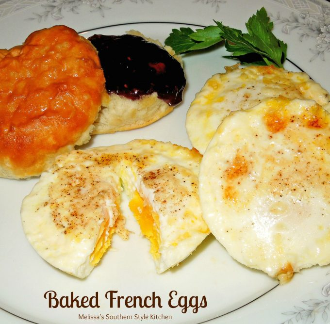 Baked French Eggs - melissassouthernstylekitchen.com