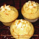 French Vanilla Cupcakes With A Dreamsicle Filling