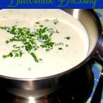 Garlic And Herb Buttermilk Dressing Recipe