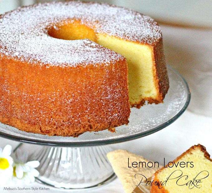 Lemon Lovers Pound Cake Melissassouthernstylekitchen Com