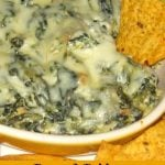 Roasted Poblano Spinach Dip