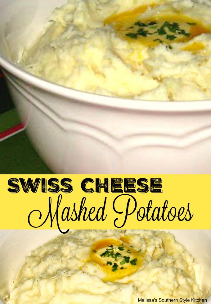 Swiss Cheese Mashed Potatoes