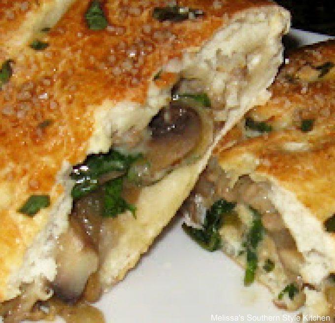 Turkey Sausage Spinach Calzone