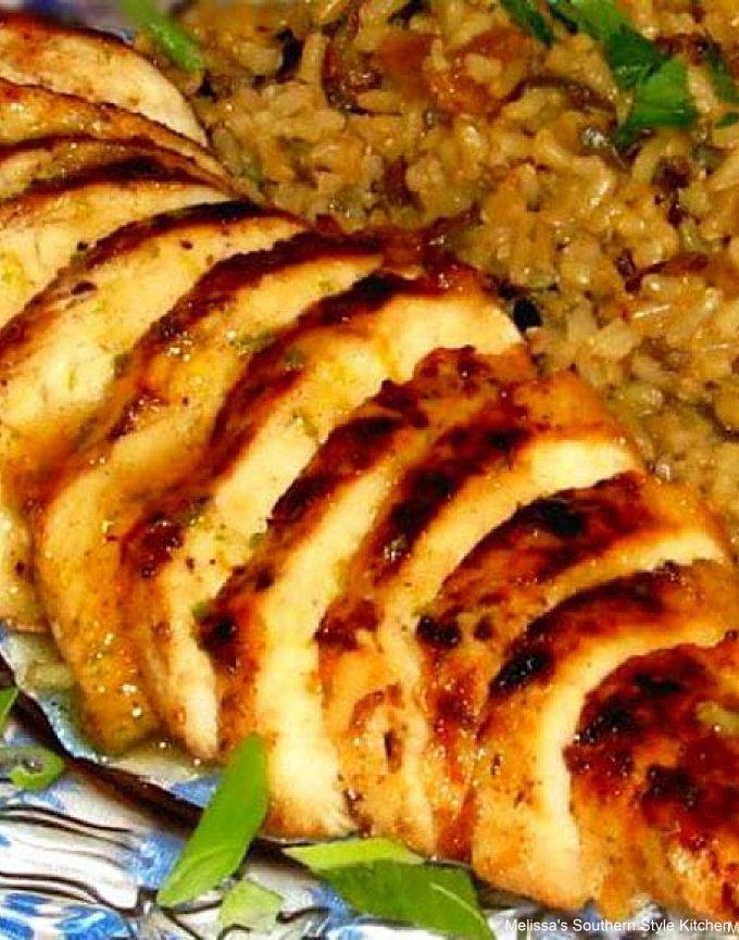 Caribbean Chicken with Honey Rum Glaze recipe