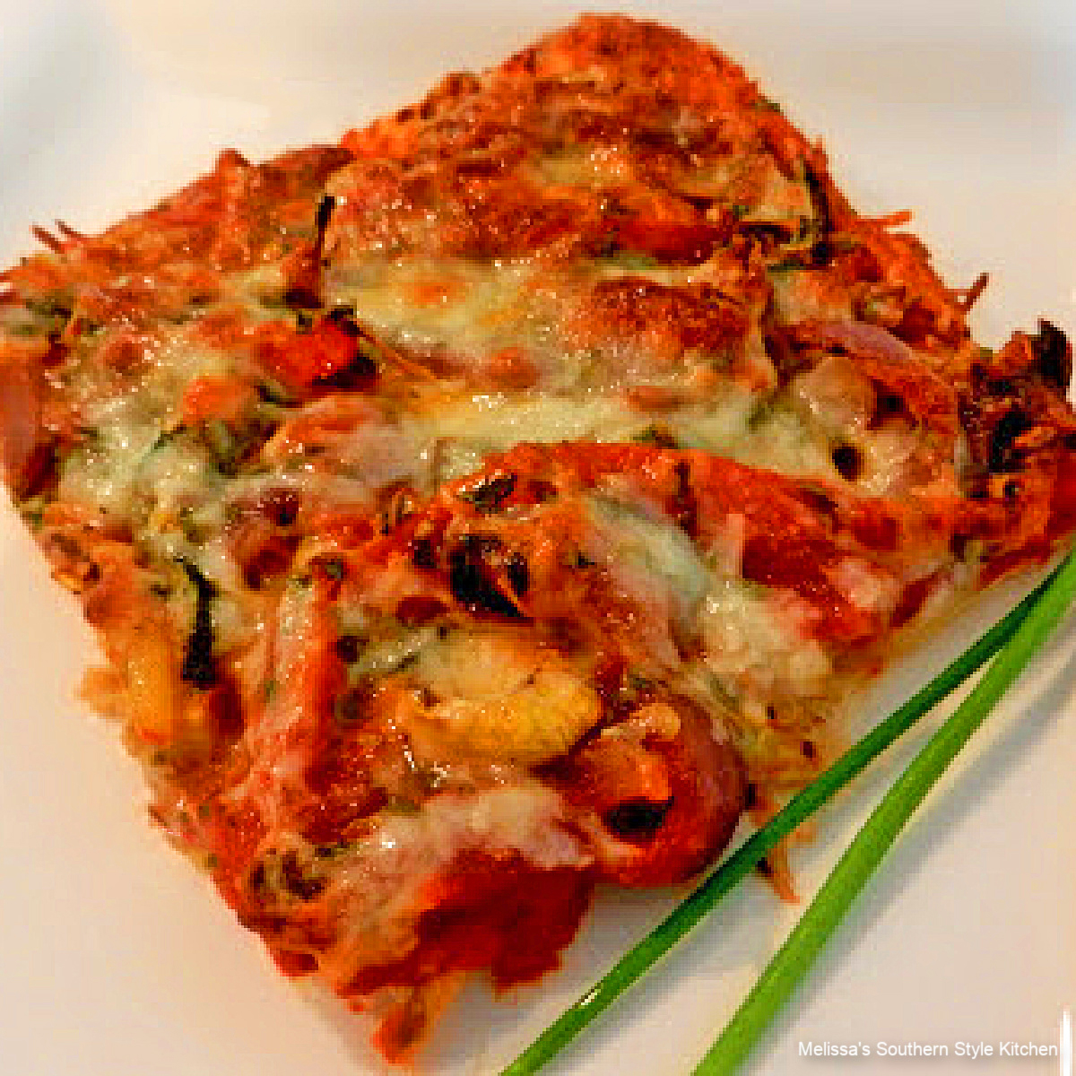 cheesy Grilled Vegetable Pizza