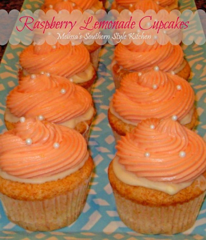 how to make Raspberry Lemonade Cupcakes