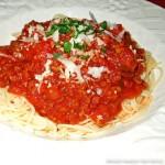 Slow Cooked Spaghetti Sauce recipe