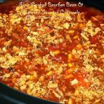 Slow Cooked Bourbon Bean And Smoked Sausage Casserole