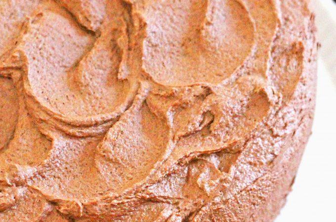 Chocolate Layer Cake With Creamy Chocolate Icing
