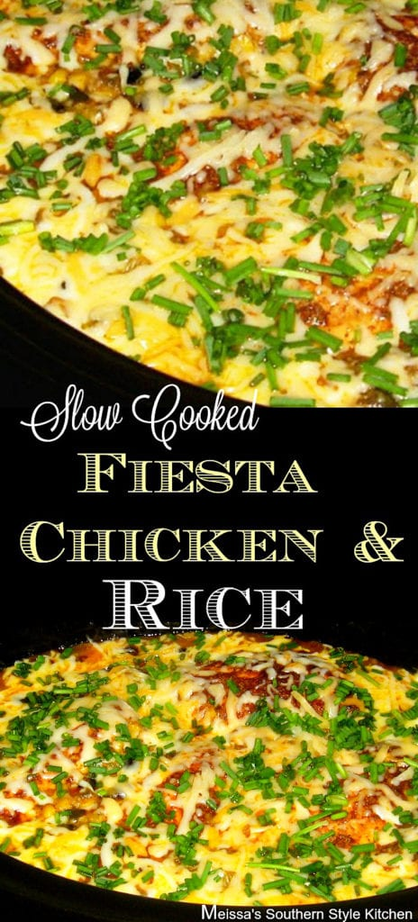 Slow Cooked Fiesta Chicken And Rice