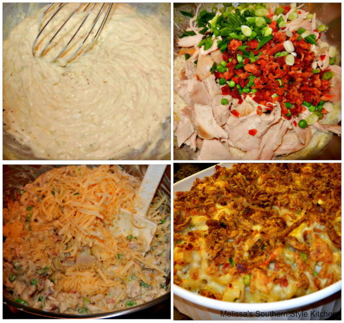 chicken bacon and ranch dressing macaroni