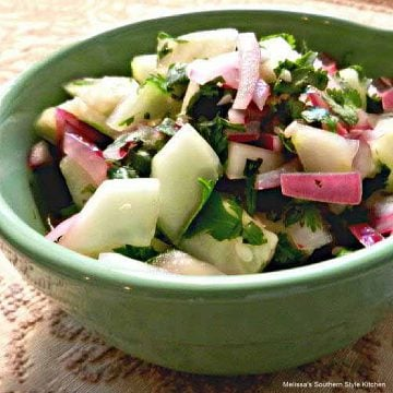 Cucumber and Onion Salad recipe
