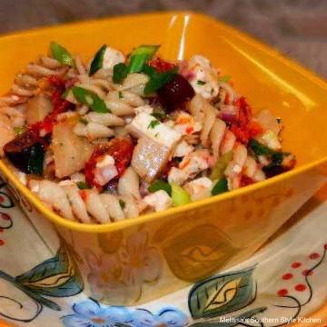 Greek-Pasta-Salad