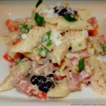 Italian-penne-pasta-salad