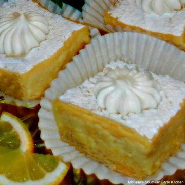best ever Lemon Custard Pie Bars