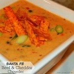 Santa Fe Beef and Cheddar Chowder