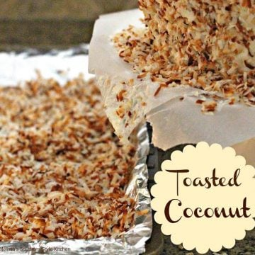 Homemade Toasted Coconut