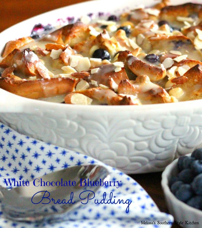 White Chocolate Blueberry Bread Pudding ...