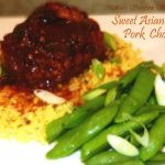 Slow Cooked Sweet Asian Chili Pork Chops