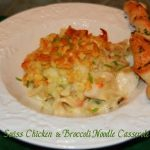 Swiss Chicken And Broccoli Noodle Casserole