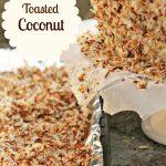 Homemade Toasted Coconut Recipe