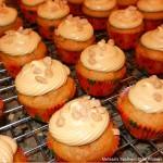 Pumpkin Spice Mini Cupcakes