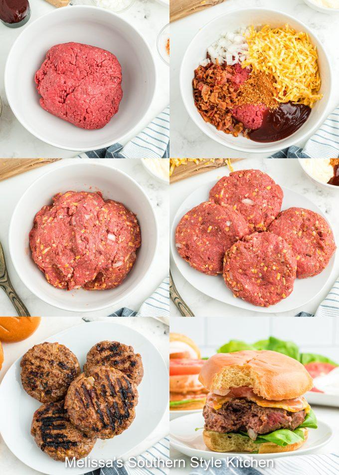 how to make Smokehouse Bacon Cheeseburgers