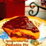 Chocolate Toffee Chip Pumpkin Pie Recipe