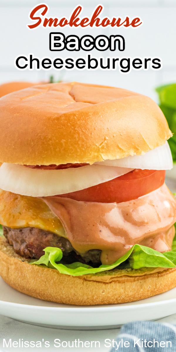 easy Smokehouse Bacon Cheeseburgers