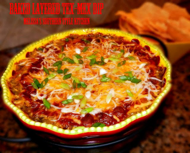 Baked Layered Tex Mex Dip