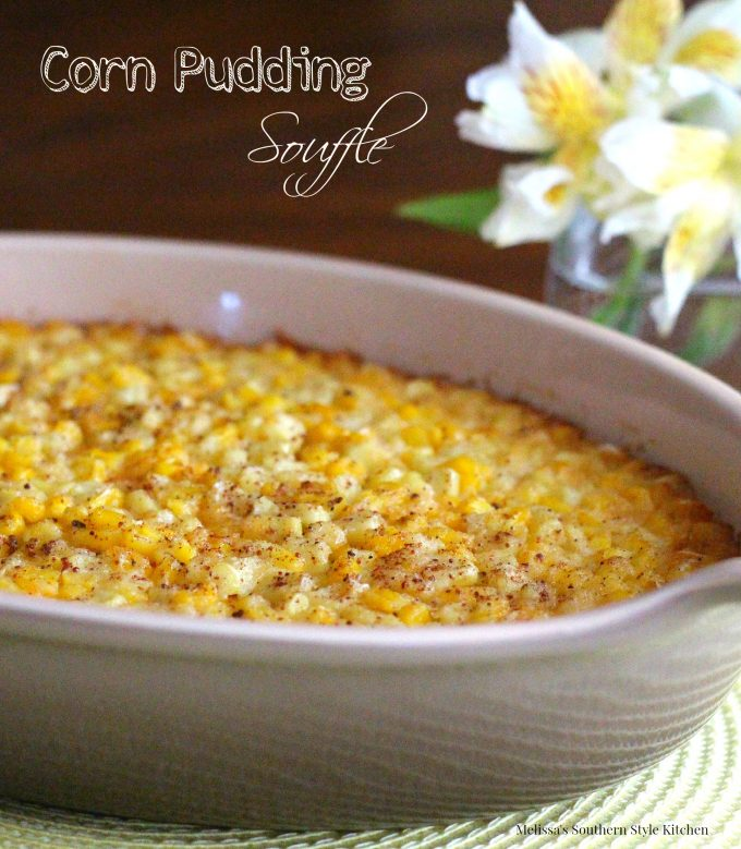 My Mom's Corn Pudding Souffle