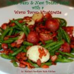 Green Bean And New Potato Salad With A Warm Bacon Vinaigrette