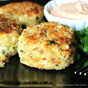 Chicken Cakes with Remoulade Sauce recipe