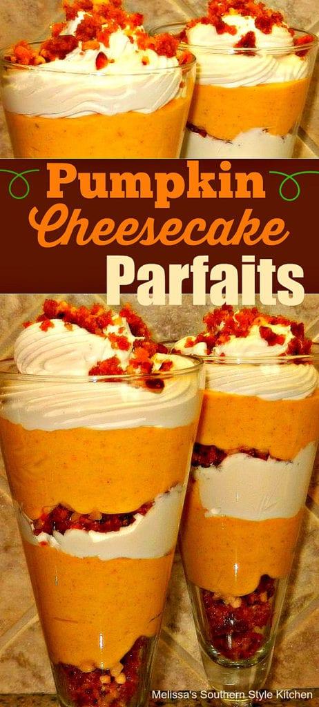 Pumpkin Cheesecake Parfaits