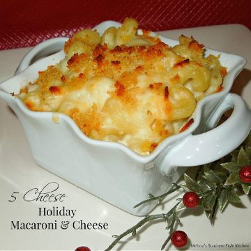 5 Cheese Holiday Macaroni and Cheese recipe