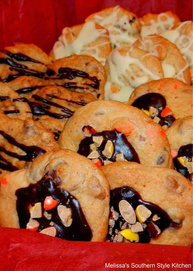 Loaded Chunky Cookies 3 Ways