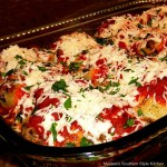 Beef and Spinach Stuffed Shells