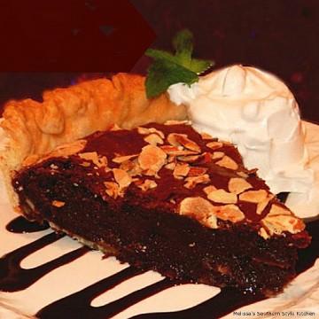 almond-fudge-brownie-pie-recipe