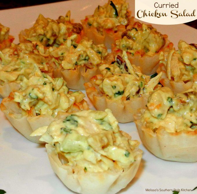Curried Chicken Salad - melissassouthernstylekitchen.com