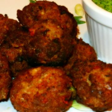 Recipe For Spanish Meatballs