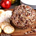 Beef And Cheddar Cheeseball