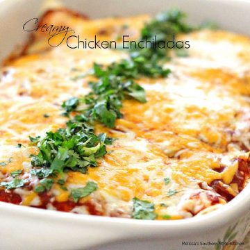 how to make Creamy Chicken Enchiladas