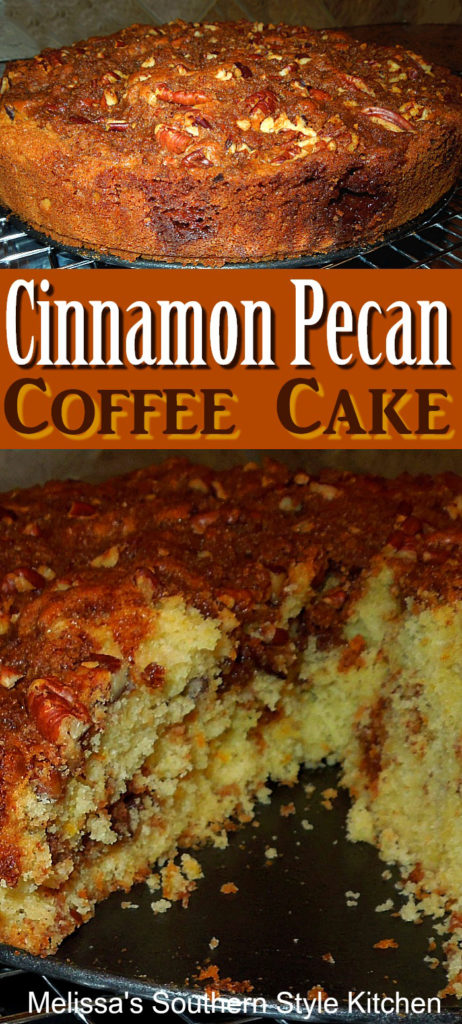 Cinnamon Pecan Coffee Cake