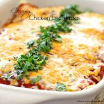 Recipe For Creamy Chicken Enchiladas